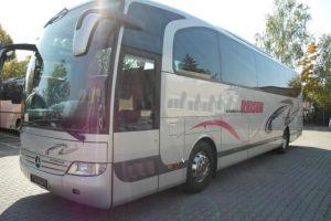 Leasing autobus Mercedes-Benz O 580 z zagranicy